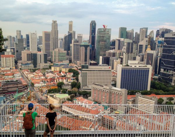 The Pinnacle@Duxton – the bird's eye view at Singapore