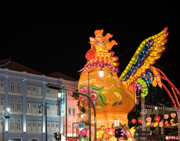 Chinese New Year in Singapore's Chinatown
