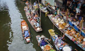 Damnoen Saduak – Thai market that rocks