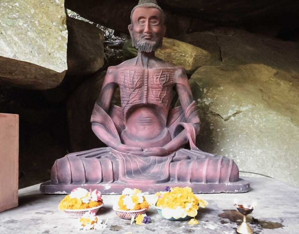 Buddhism at the hanging rock